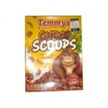 Temmys Choco Scoops 250 gm // each