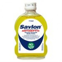 Savlon Antiseptic Liquid Bottle // 112 ml