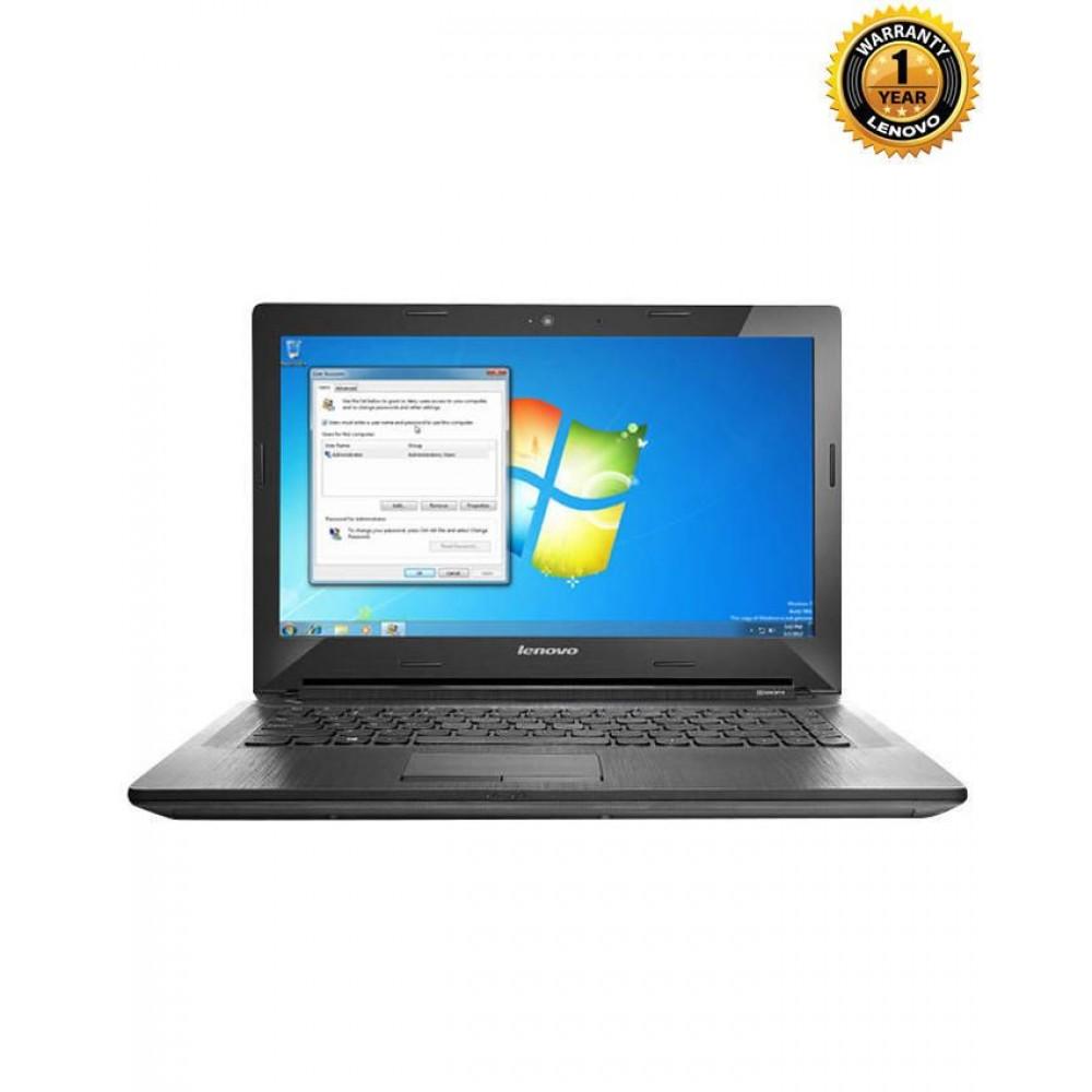 Lenovo G4080 Laptop - Black - 5th Gen Intel® Core™ i5-5200U - 4GB DDR3L RAM - 1TB HDD – 14'' HD LED