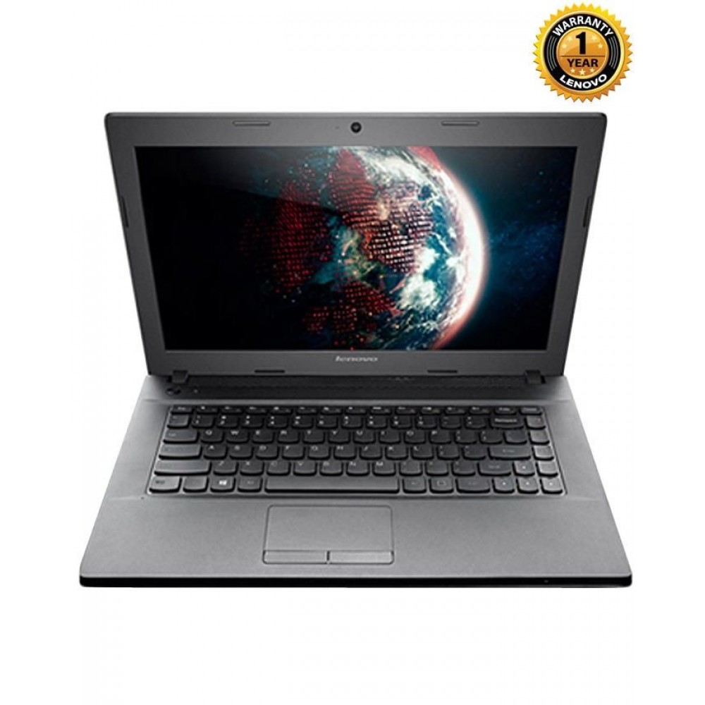 Lenovo G4045 - Quad Core - 4GB RAM - 1TB HDD - AMD Radeon R4 - 14.1'' - Black Metal