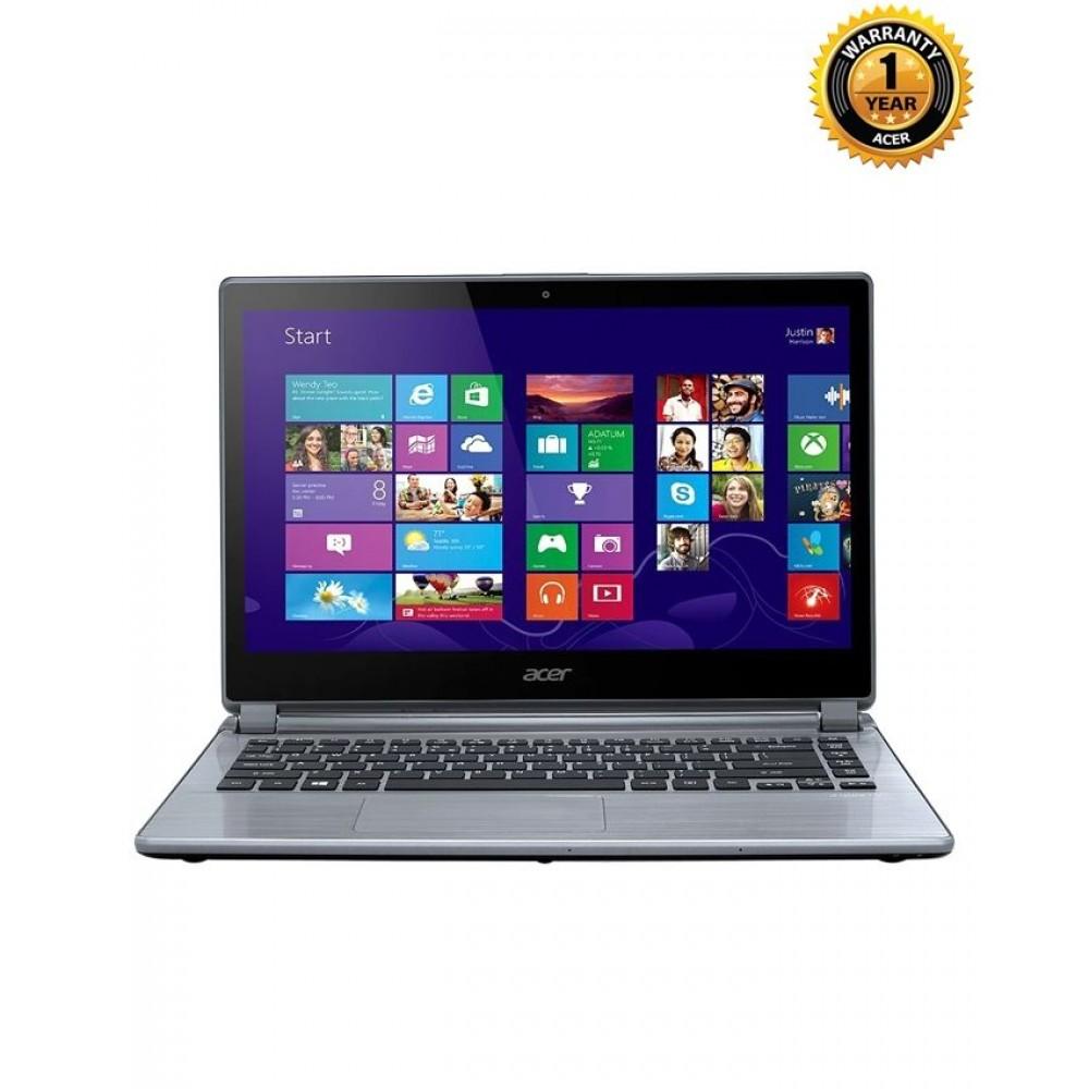 "Acer Aspire E5-473-31PN/3427 - Core i3-5005U 2.00 GHz - 4GB RAM - 500GB HDD - 14"" LED - Intel HD Graphics – Gray"