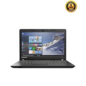 "Lenovo IP 100 - Black Laptop - 5th Gen Intel® Core™ i3-5005U 2.00 GHz Processor - 4GB RAM 1TB HDD - Intel® HD Graphics 5500 - 14"" HD LED – DOS"