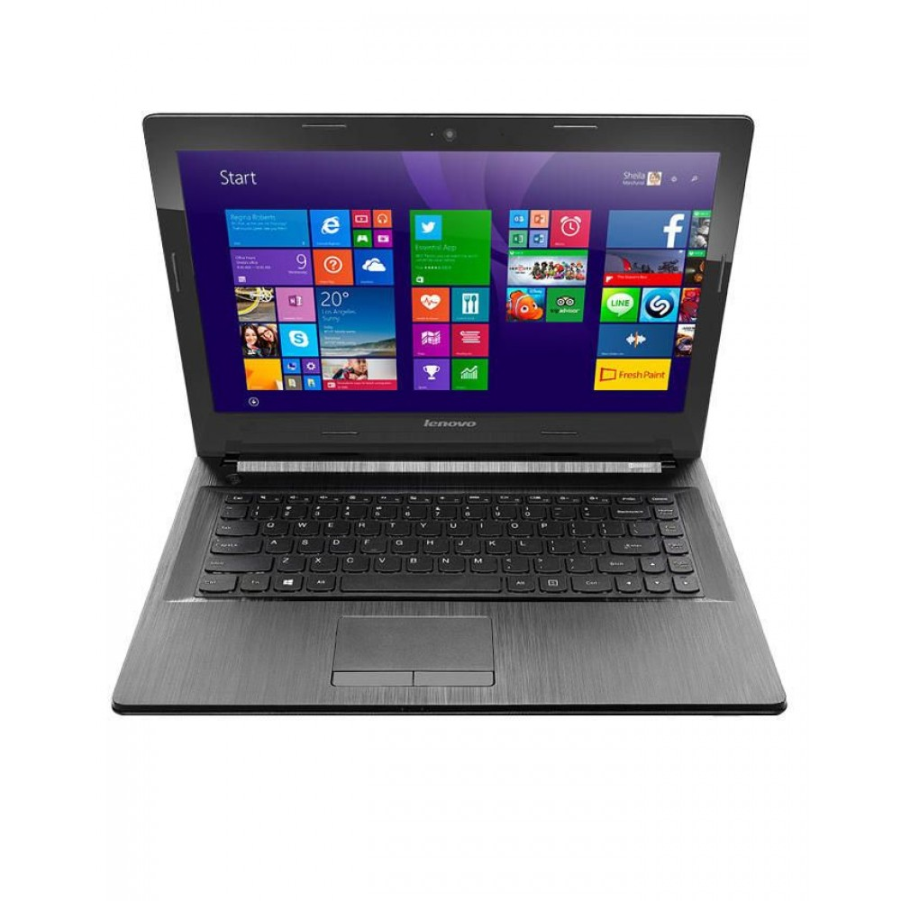 "Lenovo IP 300 Black Laptop - 6th Gen Intel Core i5-6200U 2.8GHz Processor - 4GB RAM - 1TB HDD - Intel® HD Graphics 520 - 14"" LED - DOS"