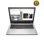"Lenovo IP 300 Silver Laptop - 6th Gen Intel Core i5-6200U 2.8GHz Processor - 4GB RAM - 1TB HDD - AMD Radeon R5 M330 2GB Graphics - 14"" LED – DOS"