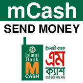 mCash (IBBL) Ishlami Bank Bangladesh Limited Send Money